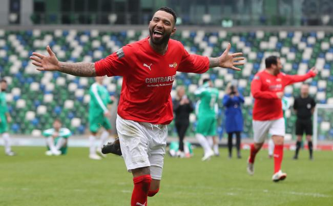 Jermaine Pennant is training with Redditch United during pre-season.