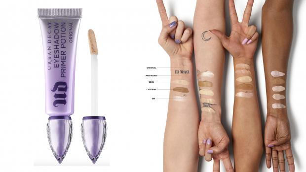 Redditch Advertiser: Lock your eyeshadows into place with the Urban Decay EyeShadow Primer Potion. Credit: Urban Decay