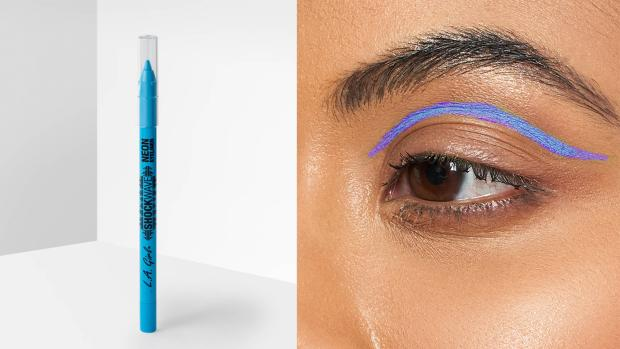 Redditch Advertiser: Add some flair to your eye look with the L.A. Girl Shockwave Neon Liner. Credit: L.A. Girl