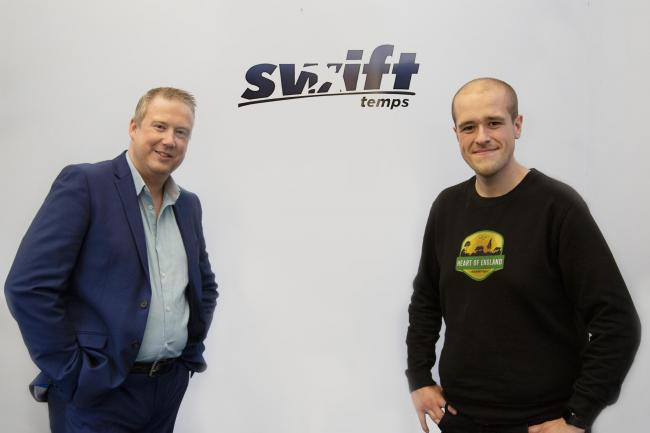 Heart of England Wildlife Park Director Martin Blyth met with Swift Director Damian Lee after securing a £1,500 corporate sponsorship package.