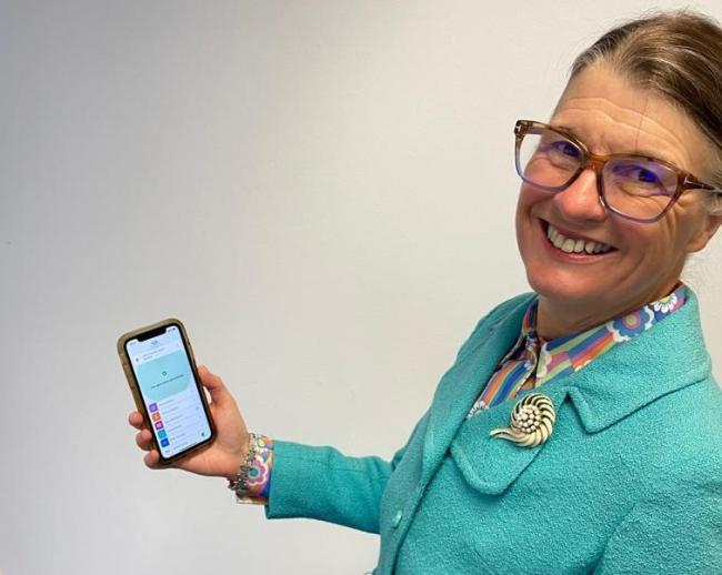 Redditch MP Rachel Maclean has downloaded the NHS Covid-19 app and is urging her constituents to download it too.