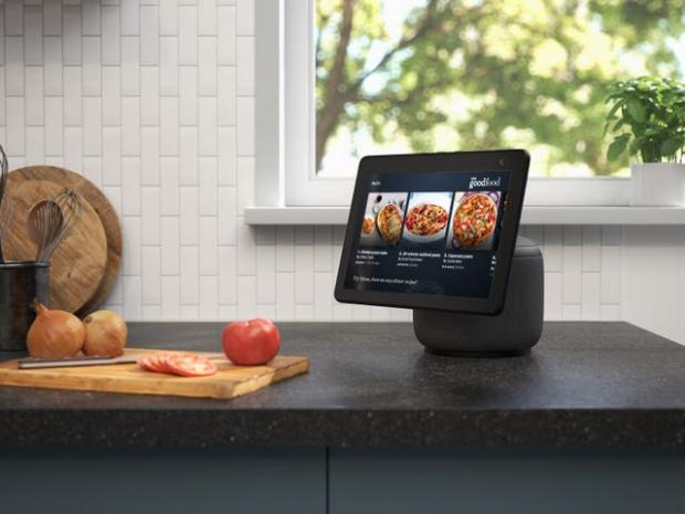 Redditch Advertiser: The new Echo Show screen can swivel to follow the user. Picture: Amazon