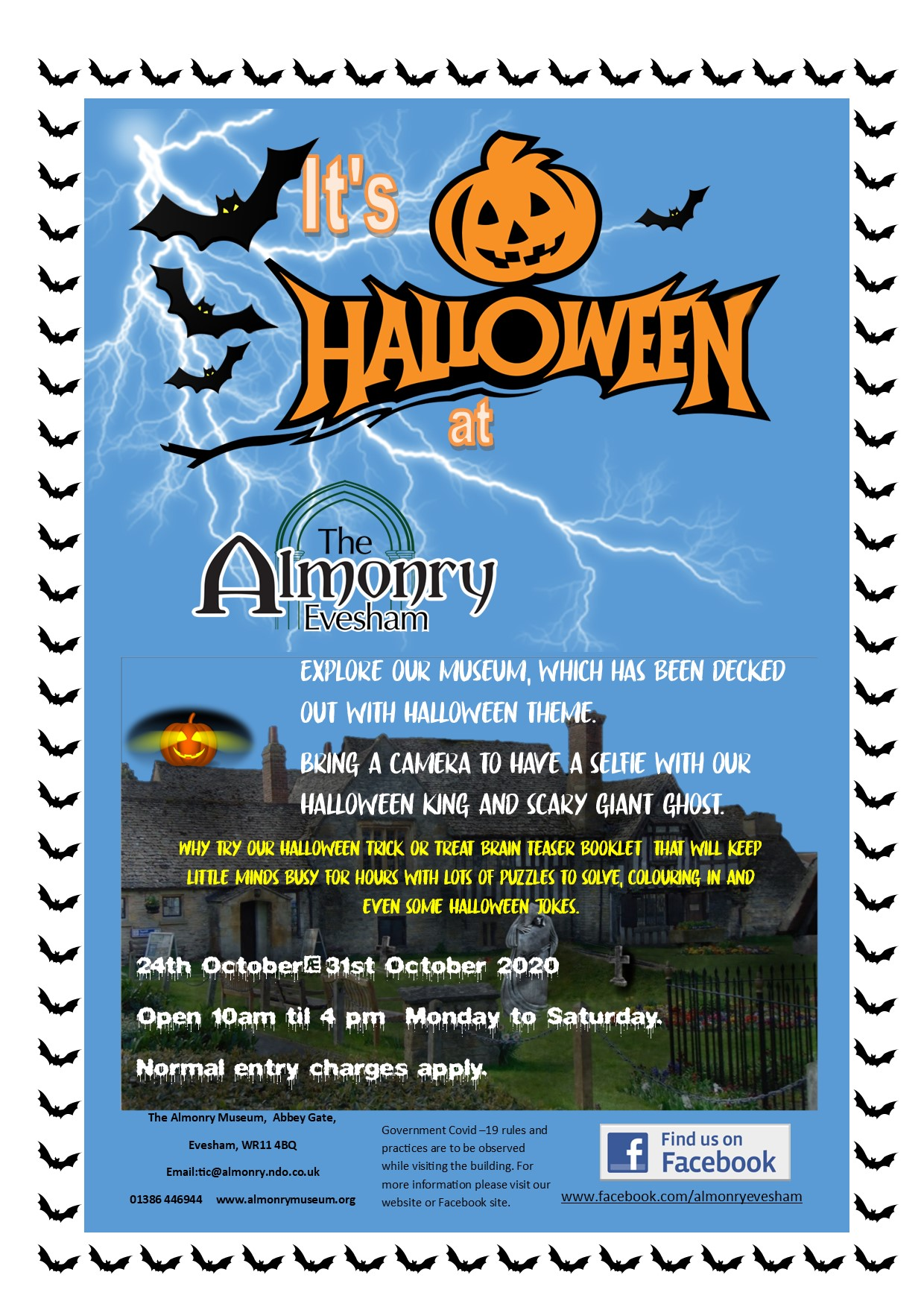 Halloween half term at the Almonry