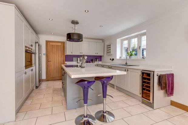 Redditch Advertiser: The kitchen. Picture: Zoopla