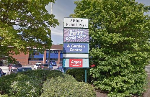 Abbey Retail Park in Redditch. Picture: Google Maps