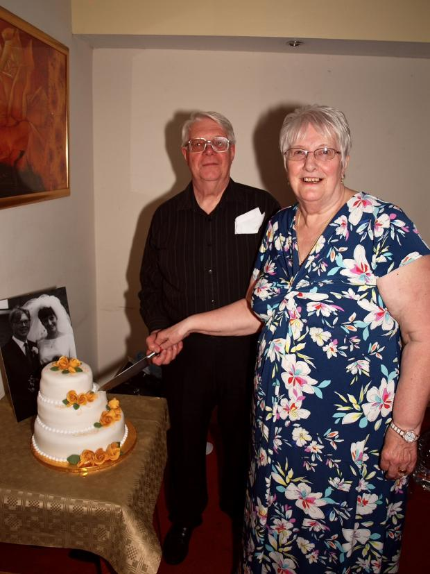 Redditch Advertiser: Terry and Cath Barton