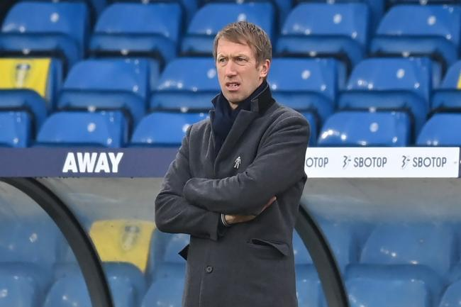 Brighton boss Graham Potter is preparing for the visit of Blackpool