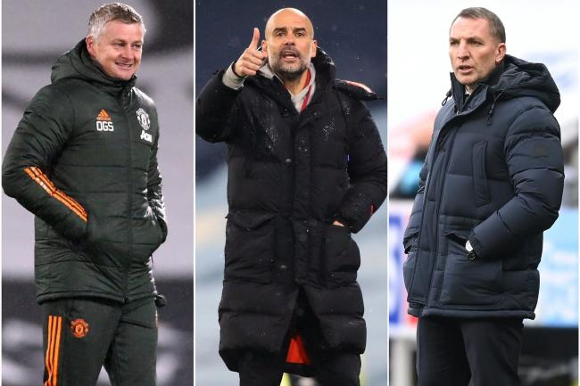 Ole Gunnar Solskjaer, Pep Guardiola and Brendan Rodgers will be hoping their respective sides can carry league form into the FA Cup.