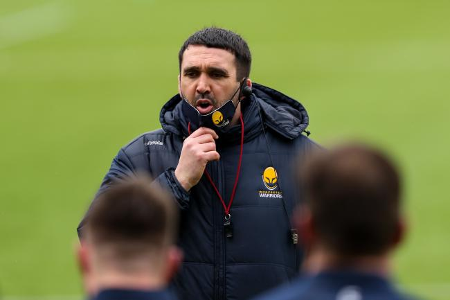 Worcester Warriors head coach Jonathan Thomas  - Mandatory by-line: Nick Browning/JMP - 30/01/2021 - RUGBY - Sixways Stadium - Worcester, England - Worcester Warriors v Exeter Chiefs - Gallagher Premiership Rugby