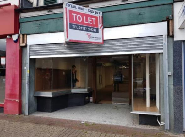 Plan to develop a new sandwich bar at a vacant unit in Redditch. Picture: Redditch Borough Council