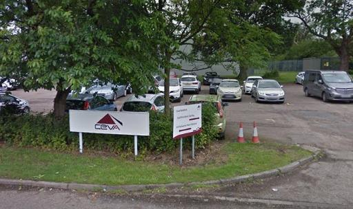Ceva Logistics on Pipers Road, Redditch. Picture: Google Maps