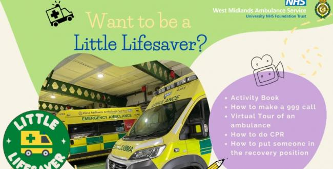 West Midlands Ambulance Service 'Little Lifesaver' campaign.
