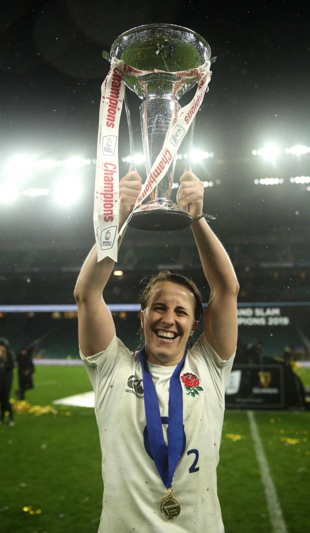Redditch Advertiser: Daley-McLean, who still stars for Sale in domestic action, believes a Red Roses victory on Saturday can inspire women and young girls to start playing rugby