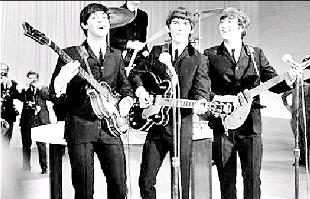 Redditch Advertiser: STARS: The Beatles performed at King George's Hall, in June, 1963