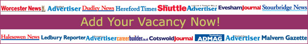 Redditch Advertiser: Online Job Posting Offer