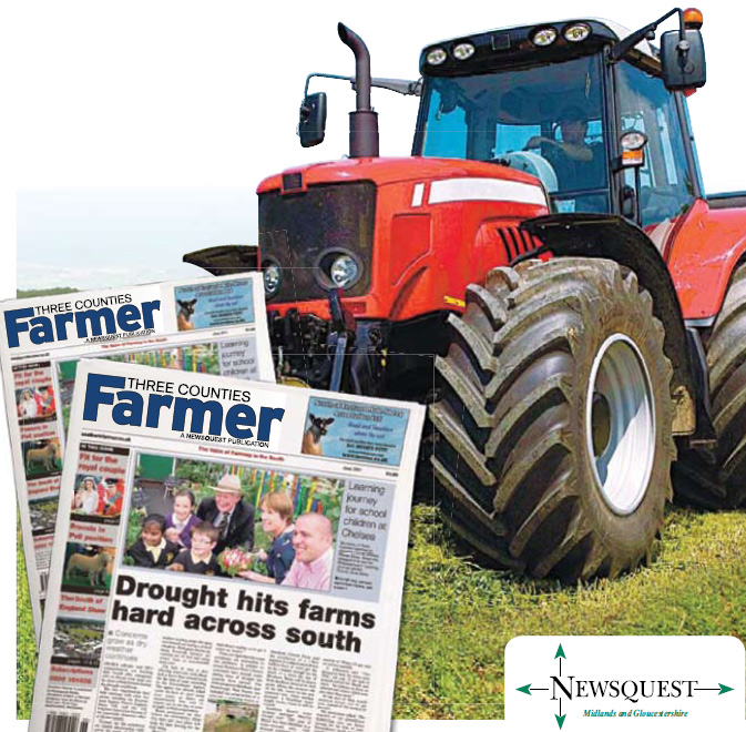 Redditch Advertiser: tractor