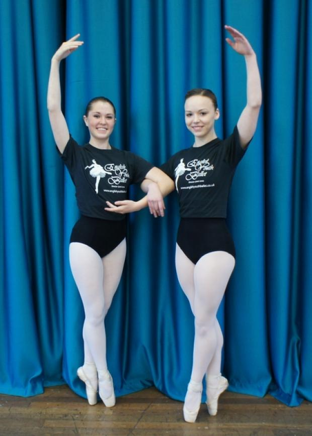 Amber Warman and Jessica King join the cast of the English Youth Ballet's Swan Lake.