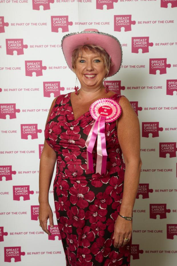 Redditch MP Karen Lumley is urging everyone to 'wear it pink'