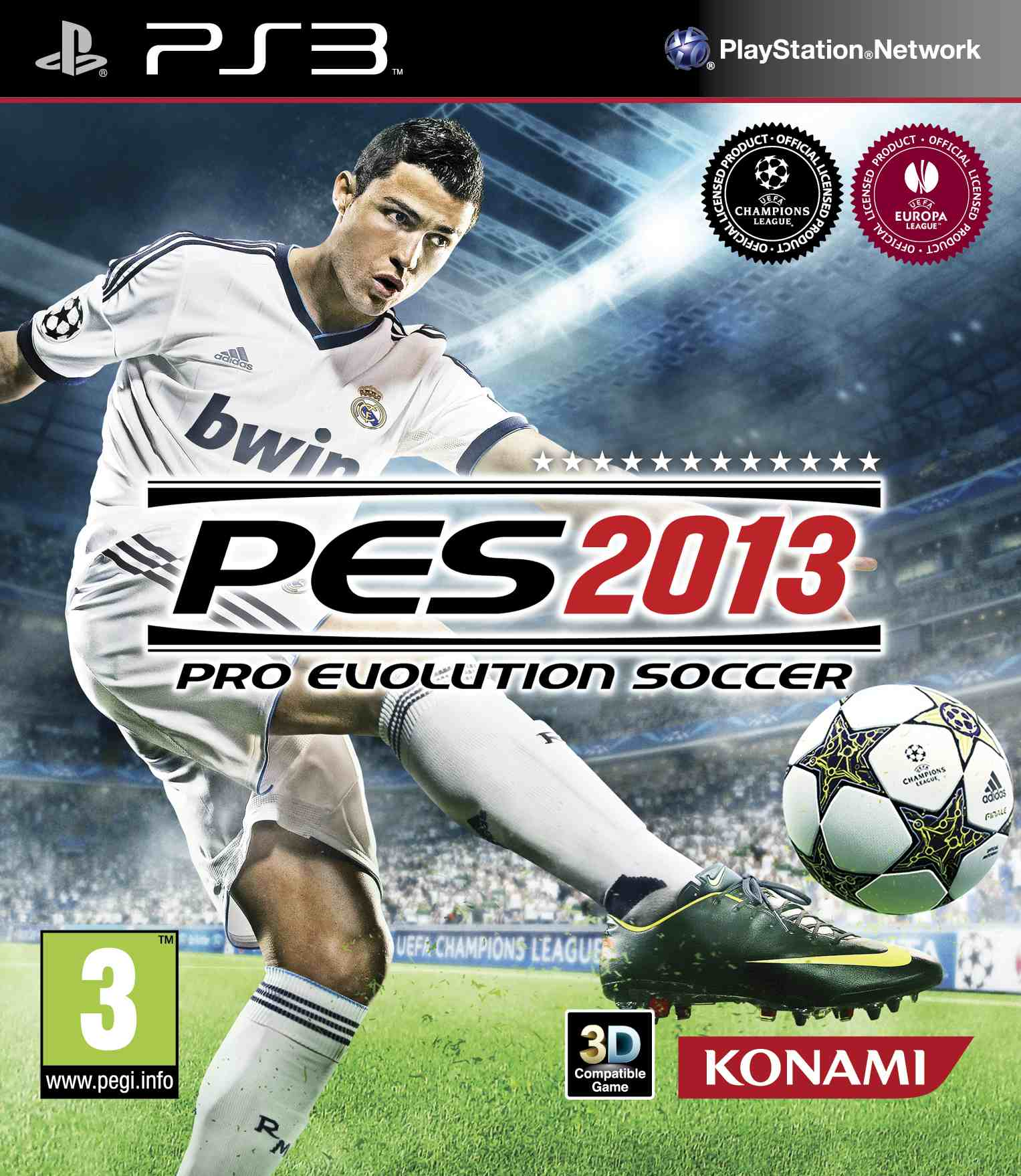 PES 2013 Scores an equalizer