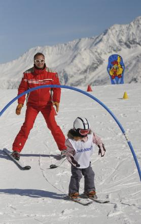 Skiing for all the family with Club Med