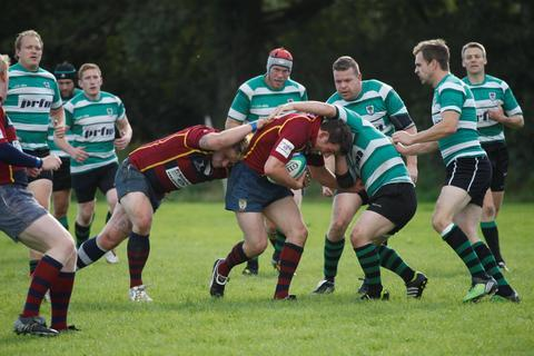 Action from Woodrush's defeat to Evesham. Picture: CRAIG ROSS