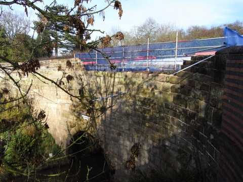 Tunnel damage: Motorists are being warned to slow down after three incidents of major damage at the Tardebigge Tunnel, in five years. Ref:s