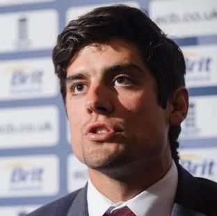 Redditch Advertiser: Alastair Cook, pictured, is planning to lead England in his own way and not pretend to be Andrew Strauss