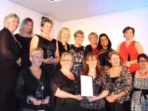 Trust staff celebrate their mentoring success