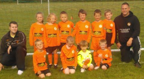 Lions cubs: Alvechurch Lions under-6s are hoping to roar this season.