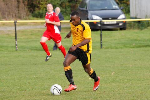 Redditch Advertiser: l Make you own Luckie: Striker Jazz Luckie has scored three goals in the last two games.