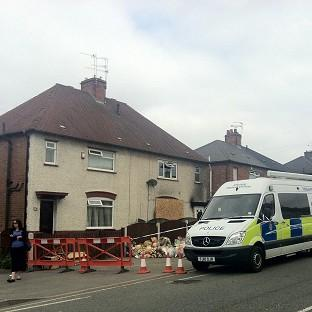 The property in Derby where six children were killed in a fire earlier this year