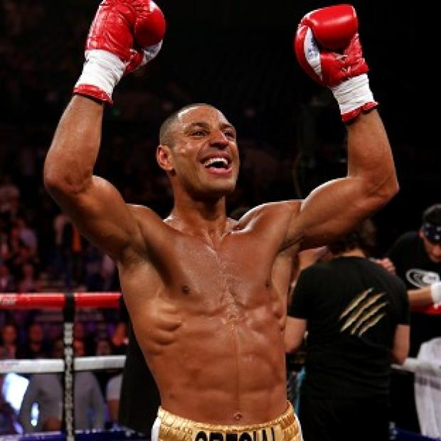 Kell Brook, pictured, is set to fight Devon Alexander in January