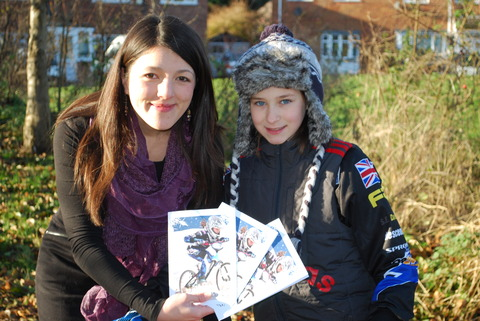 Councillor Rebecca Blake is giving her support to Libby Smith's BMX World Champi