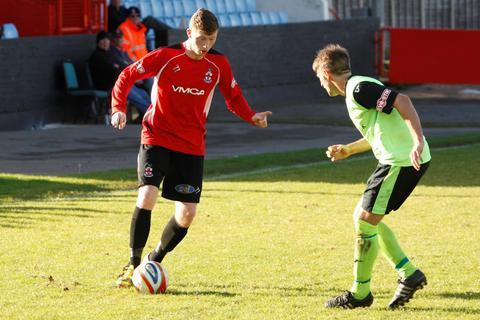 Loan ranger?: Redditch's Connor Deards may be sent out on loan.
