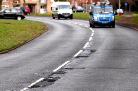 Worcestershire will receive an extra £3.2m funding for road repairs