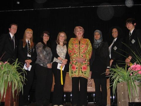 Karen Lumley MP at Trinity High School
