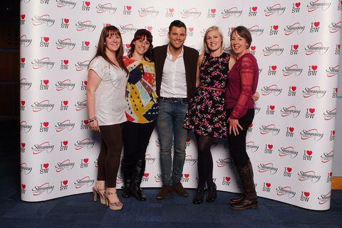 Jodie Taylor, Kerry Ward, Mark Wright, Rose Greenway and Karen Parkes