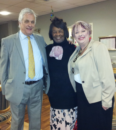MP praises the great work taking place in Redditch care homes