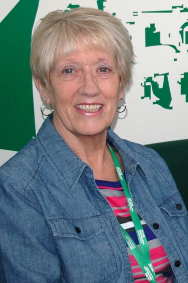 Macmillan volunteer Pauline Price