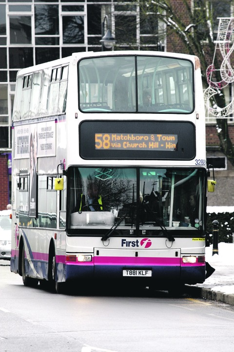 Town bus operator First hands over operations for £1.5m