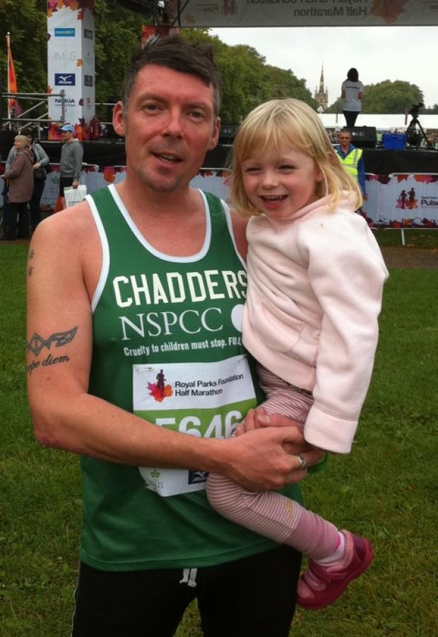 Redditch Advertiser: Martin Chadbourne and his daughter Jamie