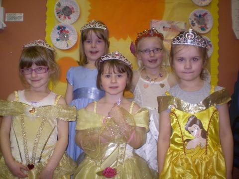 Redditch Rainbows were all princesses for the day