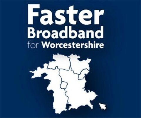 Faster Broadband for Worcestershire.