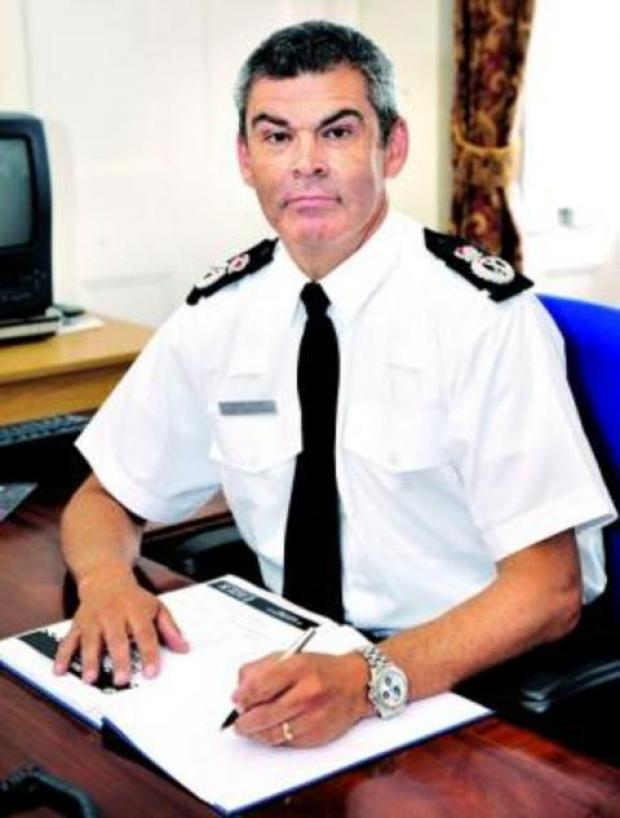 Chief Constable David Shaw