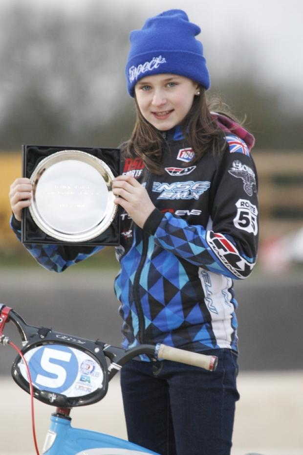 For grandad: Advertiser Sports Personality of the Year Libby Smith has dedicated her silver salver to the memory of her grandfather Mick Connelly. Picture: CRAIG ROSS
