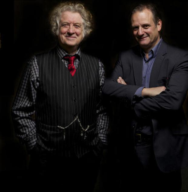 Rock legend Noddy Holder with Mark Radcliffe