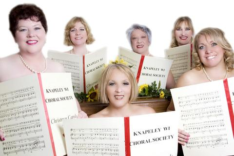 The stars of Calendar Girls