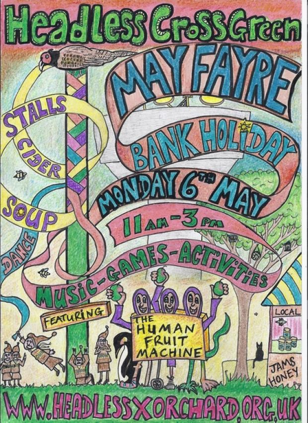 May Fayre event