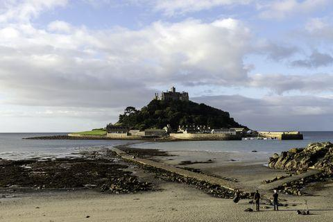 St Michael's Mount in Marazion, Cornwall.