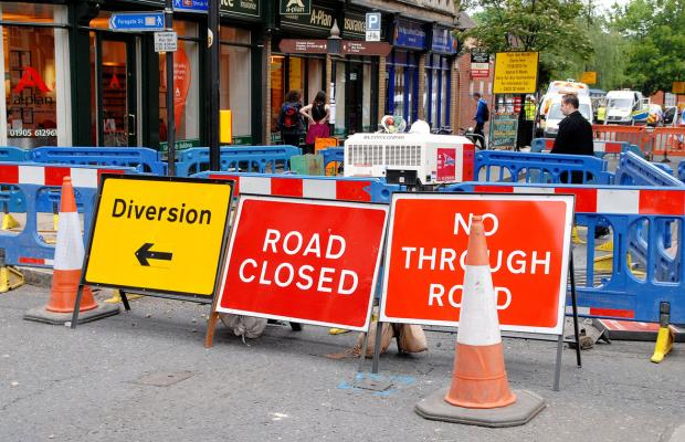 A hard-hitting crackdown on roadworks is on the way